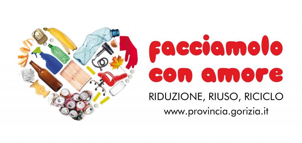 Campagna della Provincia di Gorizia per il riciclo dei rifiuti.