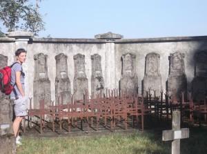 Sosta al Cimitero Austroungarico di Brazzano (3)