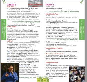Programma del 3 e 4 giugno